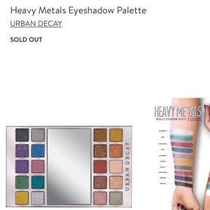 Urban Decay Makeup - Urban Decay Heavy Metals Eyeshadow palette